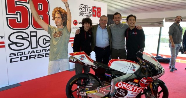 17/02/2020 ONGETTA – international leader of silk yarns production, will support SIC58 Squadra Corse again in 2020